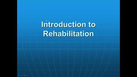 Thumbnail for entry PTHA 2435 Intro to Rehab; Normal Development; Infant Reflexes