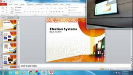 Thumbnail for entry Election Systems: Professor Tannahill's Lecture of March 23, 2017