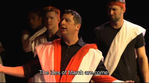Thumbnail for entry Julius Caesar in original pronunciation circa 1599