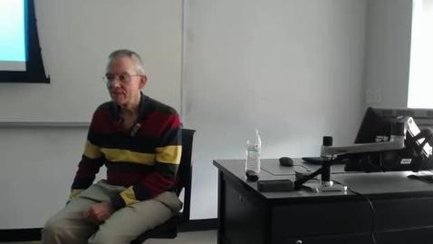 Thumbnail for entry Legislative Process I: Professor Tannahill's Lecture of February 23, 2016