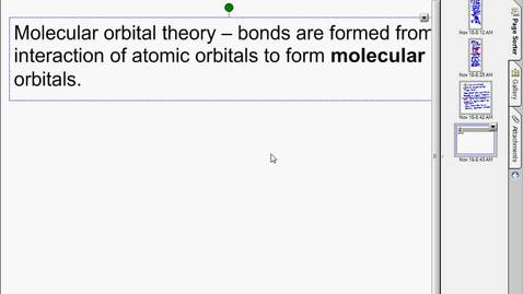 Thumbnail for entry molecular orbital theory