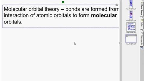 Thumbnail for entry molecular orbital theory