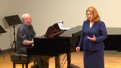 Thumbnail for entry Faculty Recital at Stafford Spring 2019 | HCC Beat