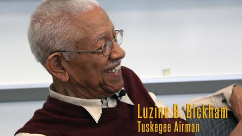 Thumbnail for entry Luzine B. Bickham, a Tuskegee Airman