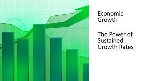Thumbnail for entry Economic Growth - The Power of Sustained Growth Rates