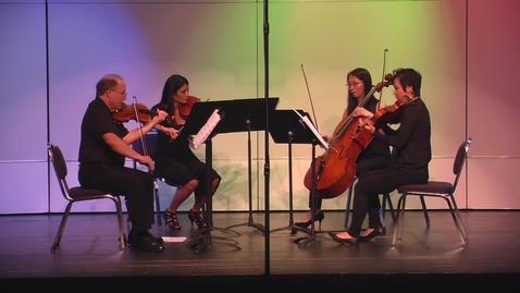 Thumbnail for entry New Music for String Quartet Concert Spring 2017