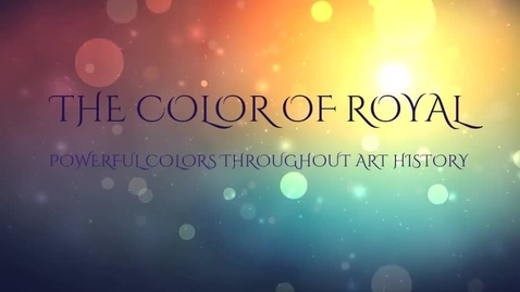 Thumbnail for entry Color of Royal