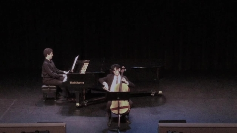 Thumbnail for entry Julian Rivera, cello Fall 2019