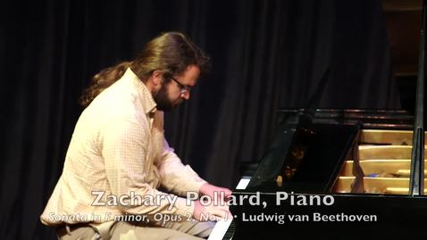 Thumbnail for entry Zachary Pollard, Piano