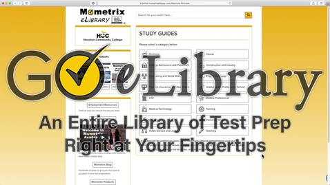 Thumbnail for entry Mometrix eLibrary Brief Tour
