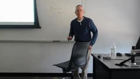 Thumbnail for entry Houston Municipal Employee Pensions: Professor Tannahill's Lecture of March 24, 2016