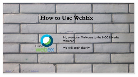 Thumbnail for entry How to Use WebEx (Starting WebEx)