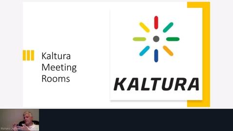 Thumbnail for entry Kaltura Live Room Demonstration - Monday, 7:00 p.m.