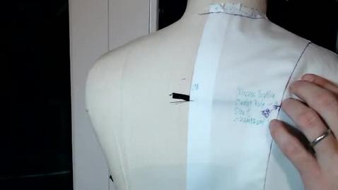 Thumbnail for entry Draping - Basic Collar