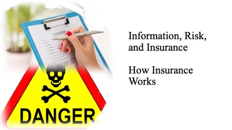 Thumbnail for entry Information, Risk and Insurance - How Insurance Works