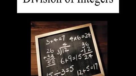 Thumbnail for entry Prealgebra 2.5.1