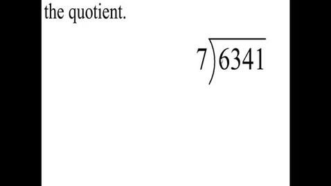 Thumbnail for entry Prealgebra 4.5.12
