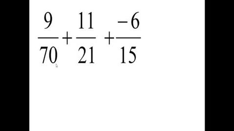 Thumbnail for entry Prealgebra 4.2.10