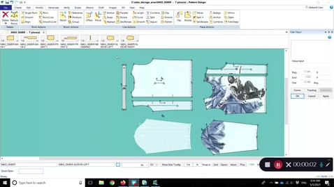 Thumbnail for entry Accumark Pattern Modification