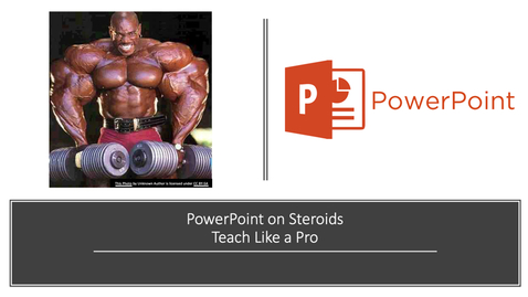 Thumbnail for entry PowerPoint on Steroids - Teach Like a Pro
