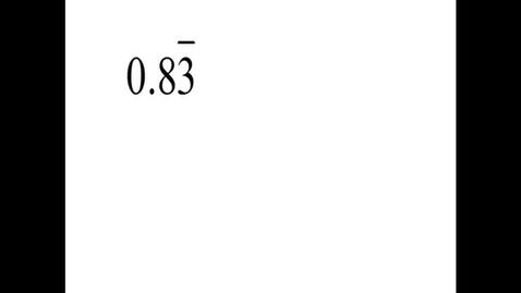 Thumbnail for entry Prealgebra 5.5.7
