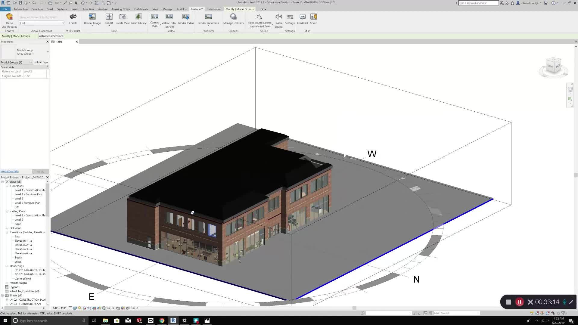 VR Tutorial: Revit + Enscape and Twinmotion - Edutube