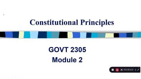 Thumbnail for entry Constitutional Principles, September 2020