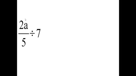 Thumbnail for entry Prealgebra 3.7.7