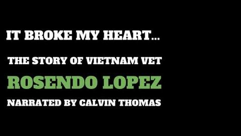 Thumbnail for entry Calvin Thomas: It Broke my Heart