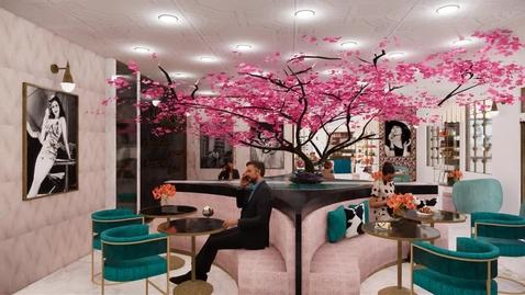 "Thumbnail for entry Paola Rubio: Interior Design ""Italian Gelato Boutique"""