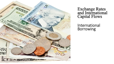 Thumbnail for entry Exchange Rates and International Capital Flows - International Borrowing