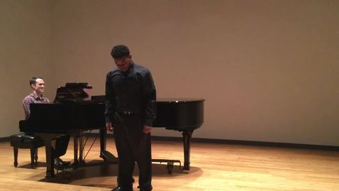 Thumbnail for entry Pastorek Master Class - Daryl Johnson Sings