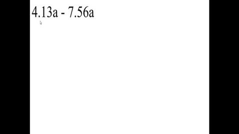 Thumbnail for entry Prealgebra 5.2.12