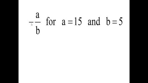 Thumbnail for entry Prealgebra 2.6.4