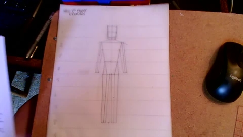 """Thumbnail for entry Drawing the 8"""" Male Figure with Muscle Tone, Face, Feet, Hair, and Hands"""