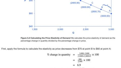 Thumbnail for entry Elasticity of Demand Calculation