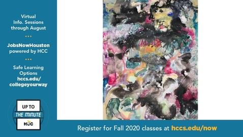 Thumbnail for entry Melinda Laszczynski Talks Art in the time of COVID on HCCTV