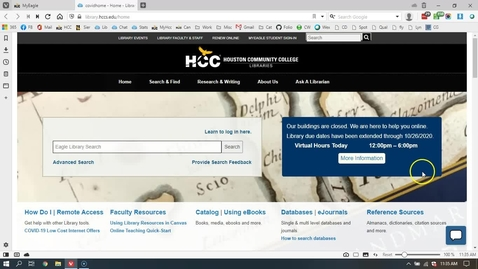 "Thumbnail for entry Finding HCC Library Sources for ""The Picture of Dorian Gray"" Annotated Bibliography"