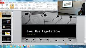 Thumbnail for entry Land Use Regulation: Professor Tannahill's Lecture of March 21, 2017