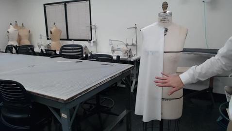Thumbnail for entry Draping - Tent Dress Final Balance Assessment