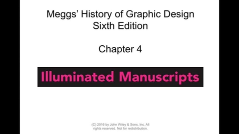 Thumbnail for entry MEGGS Chapter 4 Lecture