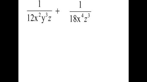 Thumbnail for entry Prealgebra 4.1.12