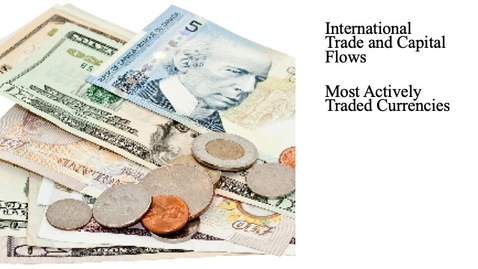 Thumbnail for entry International Trade and Capital Flows - Most Actively Traded Foreign Currencies