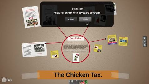 Thumbnail for entry The chicken tax