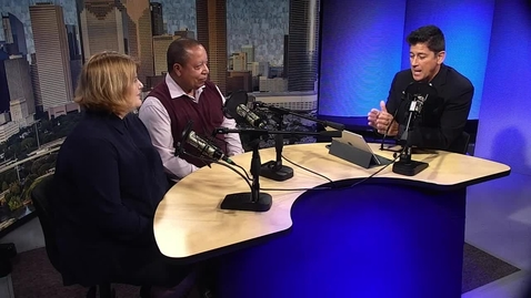 Thumbnail for entry F2F's Velbert Lewis and VPA's Colleen Reilly Talk Jazz Summer Camp at HCC