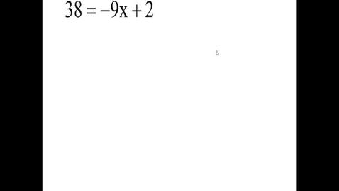 Thumbnail for entry Prealgebra 2.8.9