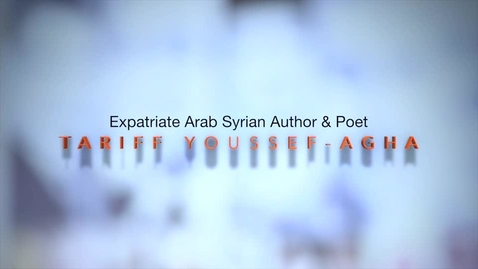 Thumbnail for entry The Arab Spring: Tarif Youssef-Agha