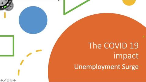 Thumbnail for entry COVID 19 and Unemployment
