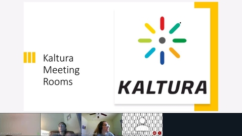 Thumbnail for entry Kaltura Live Room Demonstration - Tuesday, 12:00 p.m.