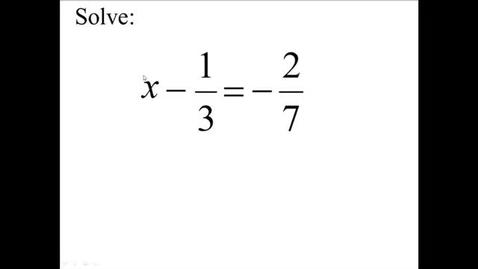 Thumbnail for entry Prealgebra 4.3.9